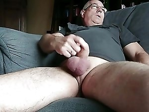 Masturbating at home