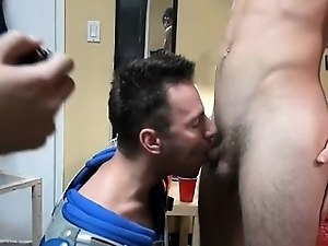 Gay boys enjoy time at a party and get dicks ready for bang