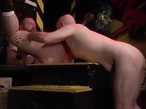 Mature gays enjoying anal sex and sucking