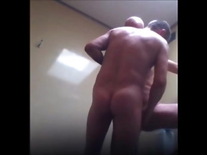 Allan fun - Trucker taking care of my cock