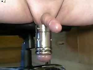 Ballstretcher cumshot webcam #7