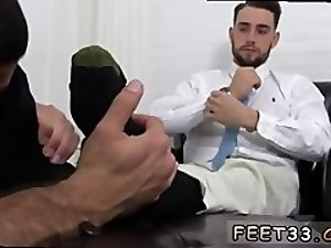 Gay feet extreme video KC's New Foot & Sock Slave