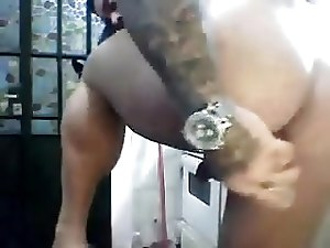 Big daddy self fuck on cam