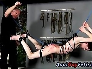 Bodybuilder bondage gay The poor lad is suspending there with his donk on