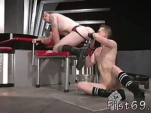 Tattooed Twink Gets His Shaved Ass Fisted