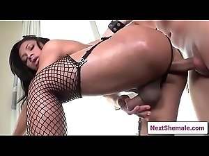 Horny shemale gets ass banged hard 07