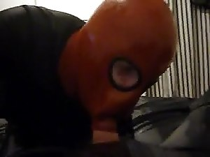 fucking my slave Mel into her Rubbermask 2