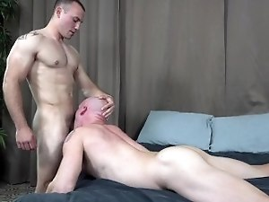 ActiveDuty Straight Down His Throat