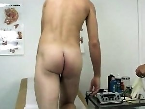 Gay uncut males physical exam and doctor patient arse fuck x