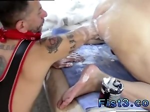 Small dick hardcore gay sex movieture Fist n Fuck Fest for Three Pigs
